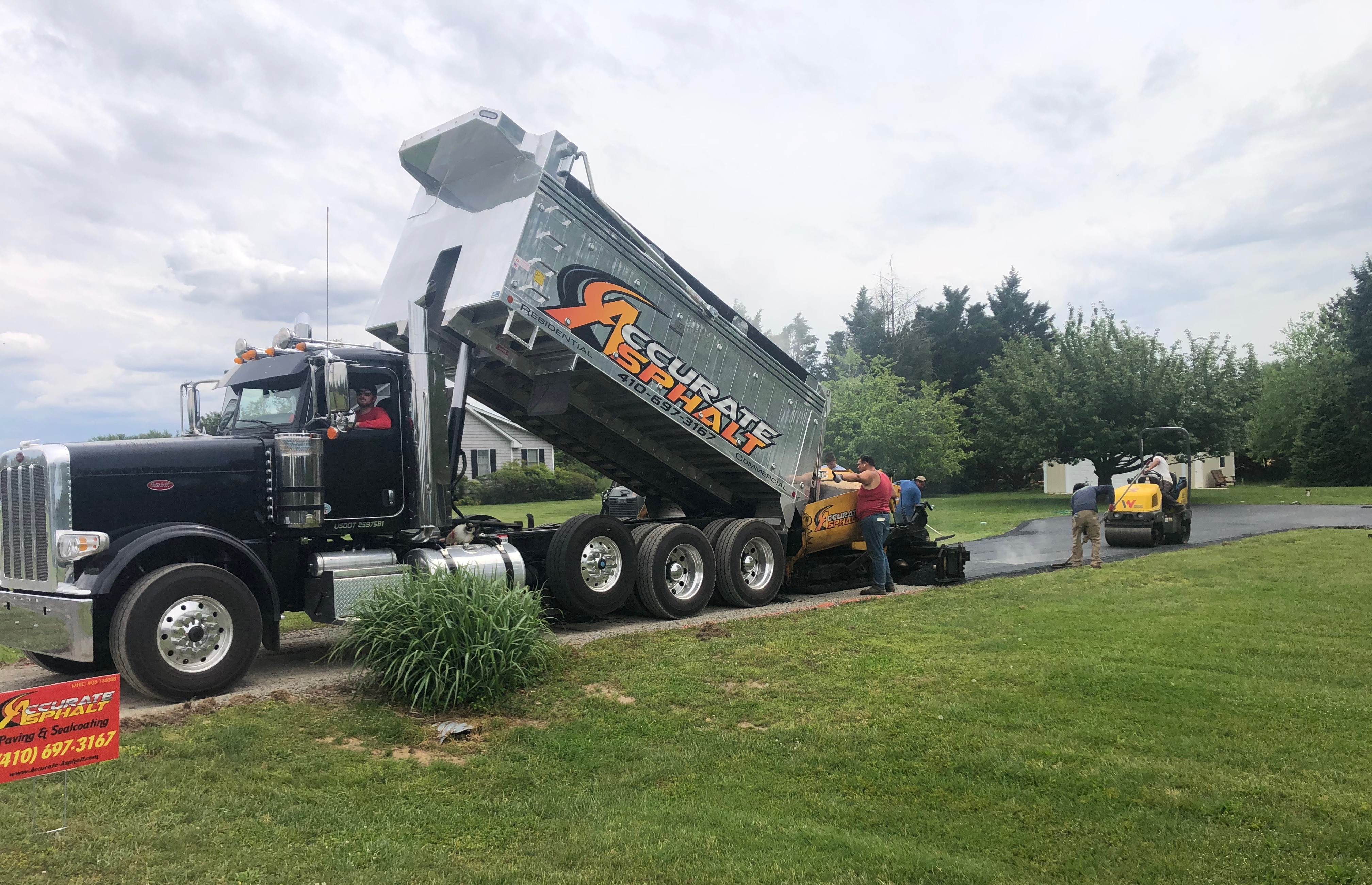 Accurate Asphalt - Residential & Commercial Paving Services