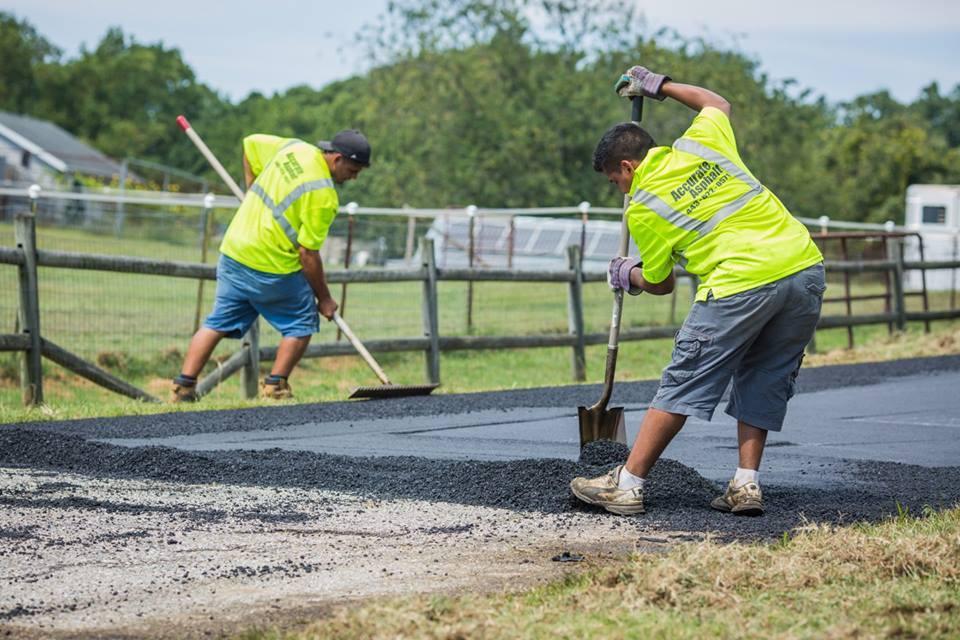 Glen Burnie MD Driveway Installation Accurate Asphalt